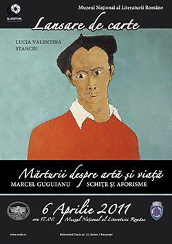 Lansare de carte - Marturii despre arta si viata (Marcel Guguianu)