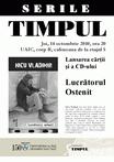 """Lansarea volumului """"Lucratorul ostenit"""" de Nicu Vladimir @ Iasi"""